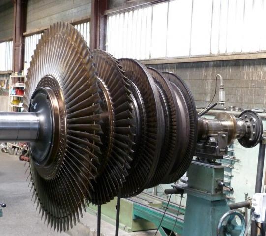Equilibrage rotor compresseur
