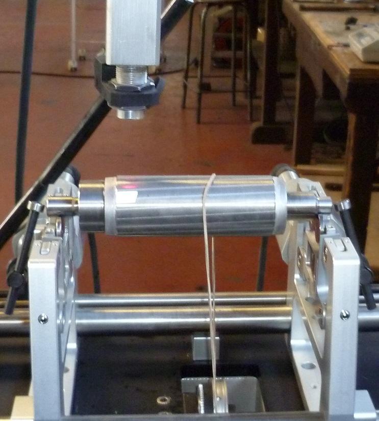 Equilibrage rotor de broche 1kg