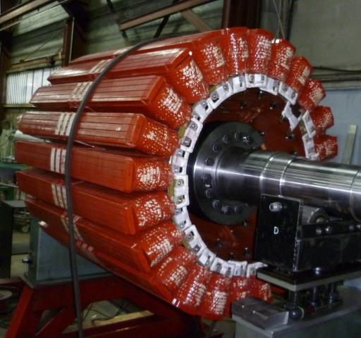 Équilibrage rotor generatrice