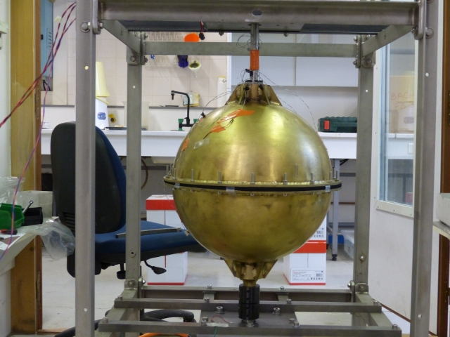 Equilibrage sur site Sphere Laboratoire CNRS