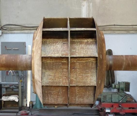 Equilibrage ventilateur 4500kg