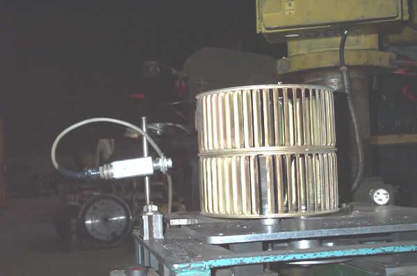 Equilibrage ventilateur cage