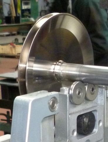 Equilibrage poulie aluminium 30 g 15000 tr par mn