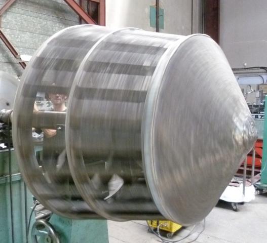 Équilibrage rotor concasseur