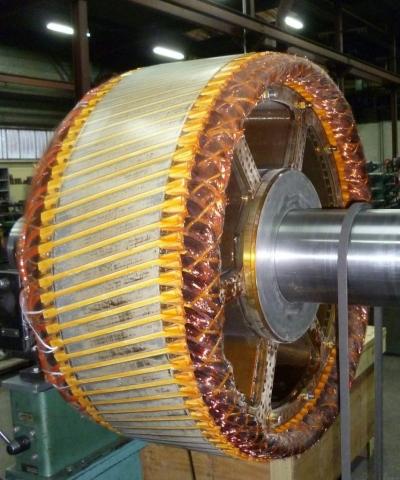 Équilibrage rotor excitatrice