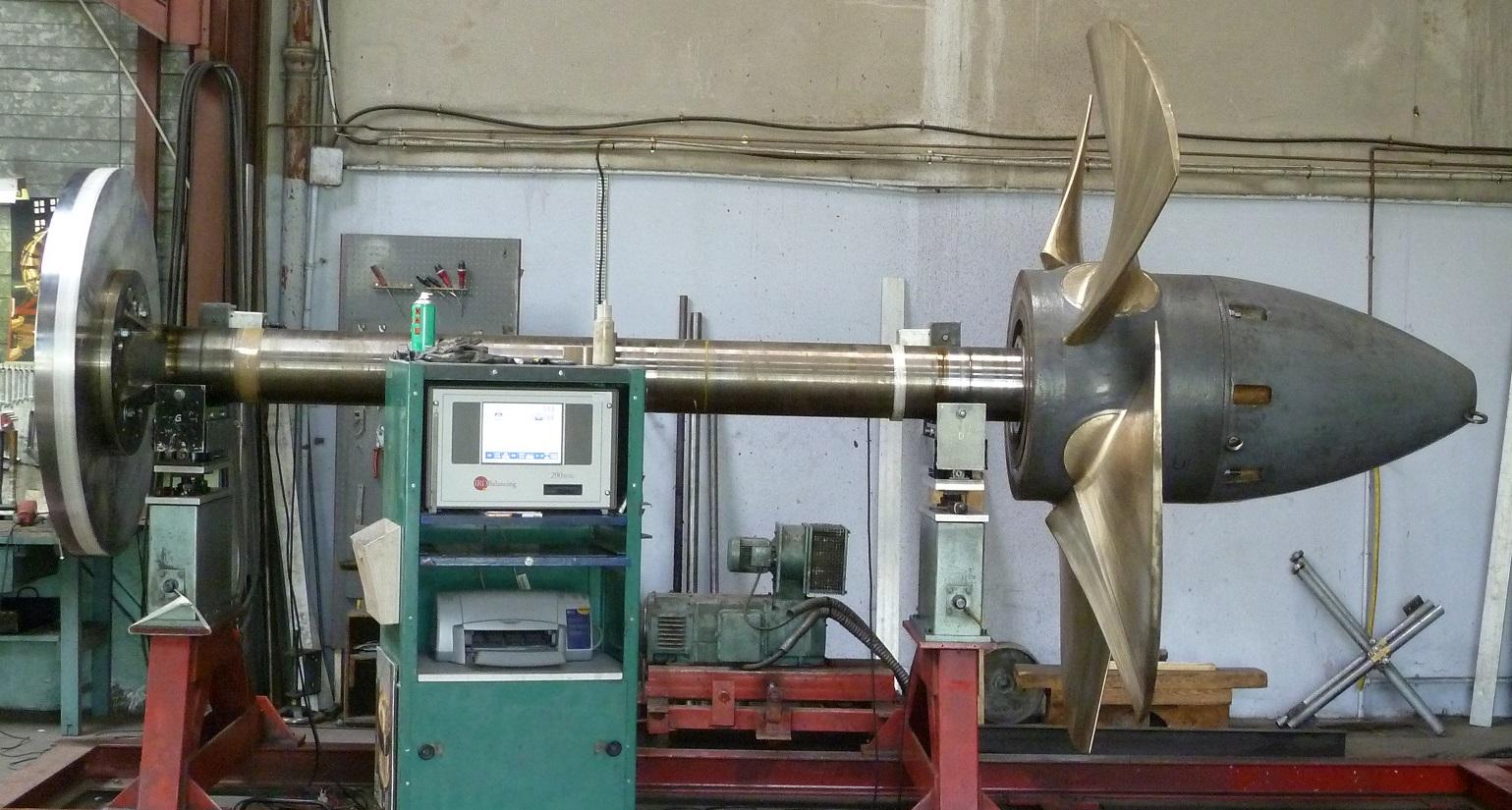 Equilibrage roue kaplan 1200 kg