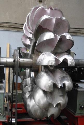 Equilibrage roue Pelton 4000 kg