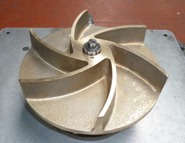 Equilibrage ventilateur aluminium 2kg