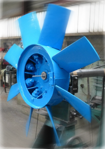 Equilibrage dynamique ventilateur