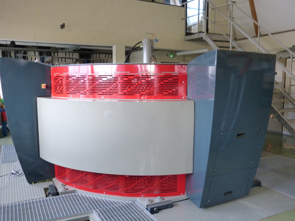 Contrôle vibratoire centrale hydro-électrique