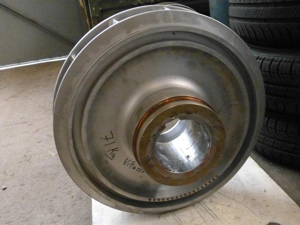 Equilibrage pompe par percage