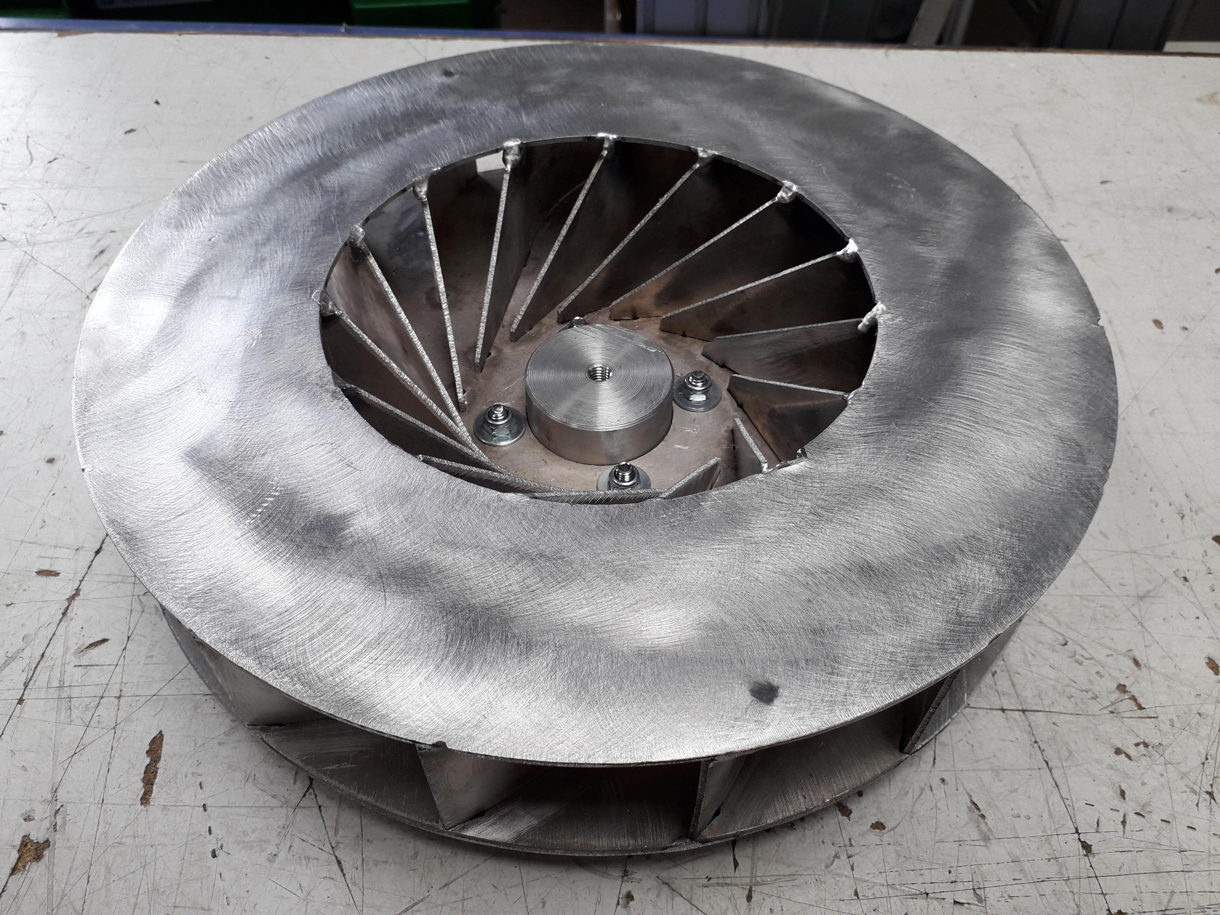 Equilibrage Ventilateur