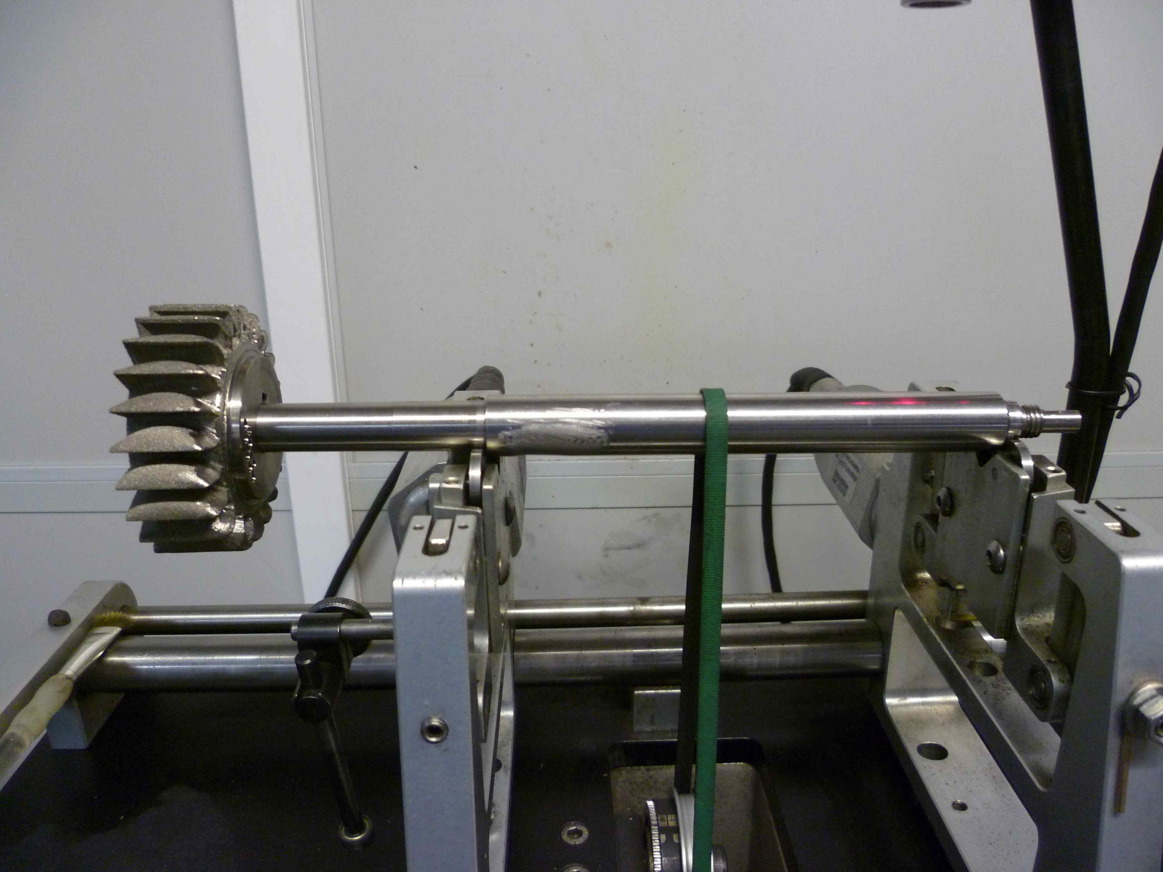 Equilibrage Turbine+Arbre