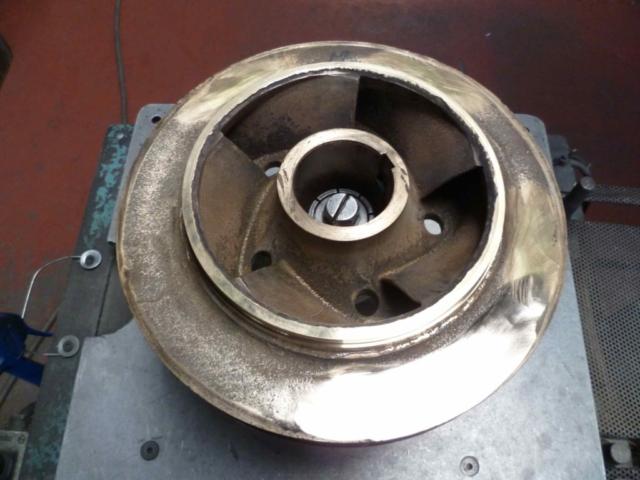 Equilibrage roue bronze